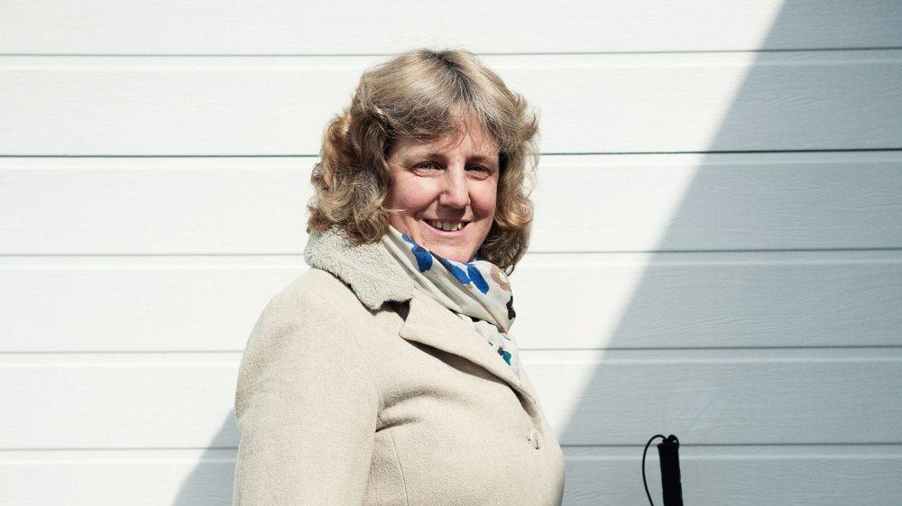 Natacha de Montmollin, non-voyante