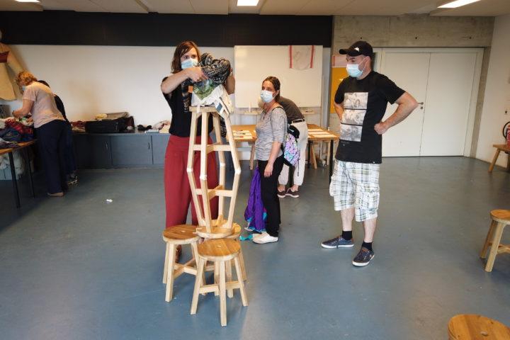 Atelier créatif step2blid au Latenium